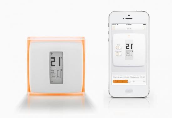 termostato inteligente, calefacción, temperatura