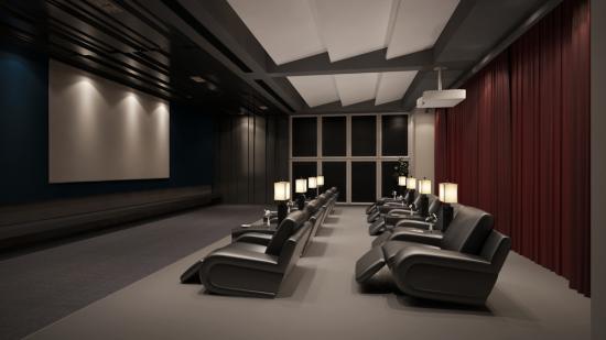 cine, audio, multisala, locales, exterior, proyección, monitores, pantallas, altavoces