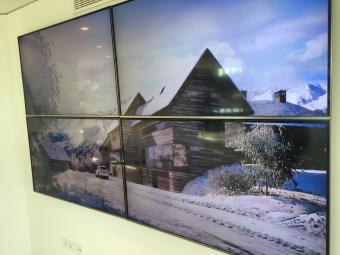 videowall, pantallas, proyección